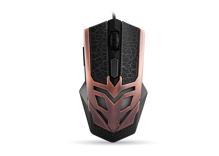 Everest SM-614 Usb 6D Bronze Plated Gaming Mouse
