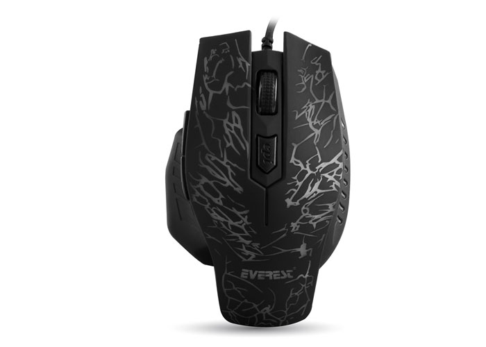 Everest SM-700 Usb Black Gaming Mouse
