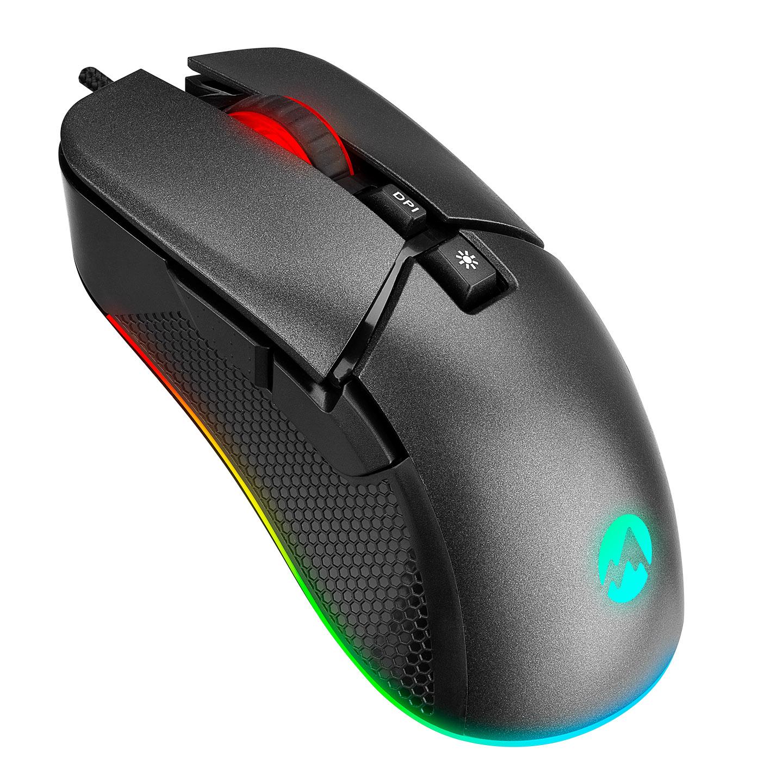 Everest SM-G05 X-RACER Usb Siyah 6400dpi RGB Ledli Gaming Oyuncu Mouse