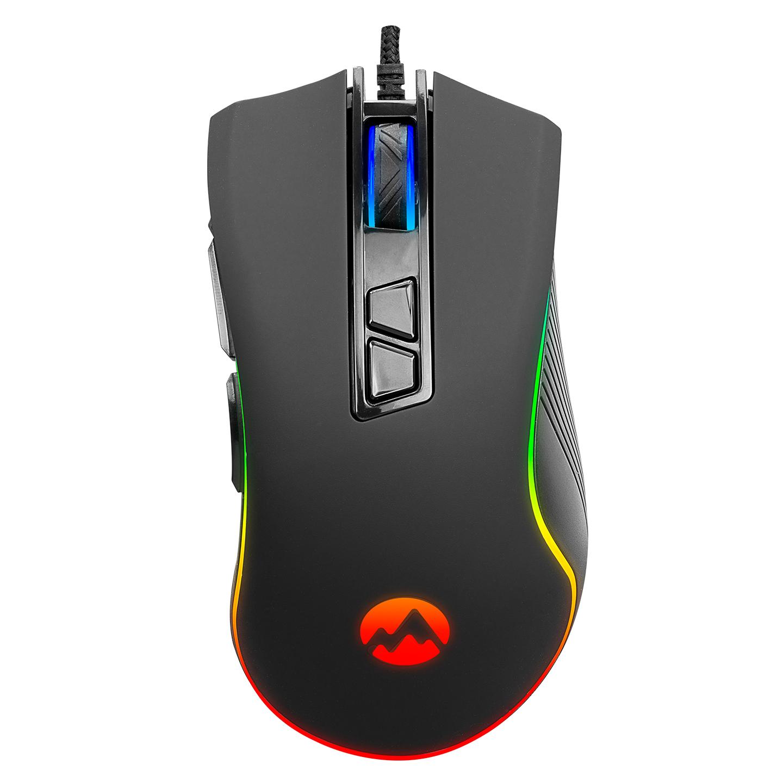 Everest SM-G06 SAGITTA Usb Siyah 800/1600/3200/4800/6400 dpi RGB Gaming Mouse