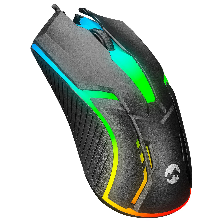 Everest SM-G52 Usb Siyah Aydınlatmalı Gaming Oyuncu Mouse