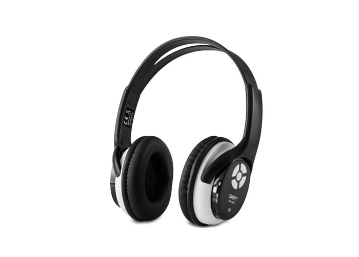 Snopy SN-2000 Mini SD Kart MP3 Oynatıcı Siyah FM Destekli Kulaklık