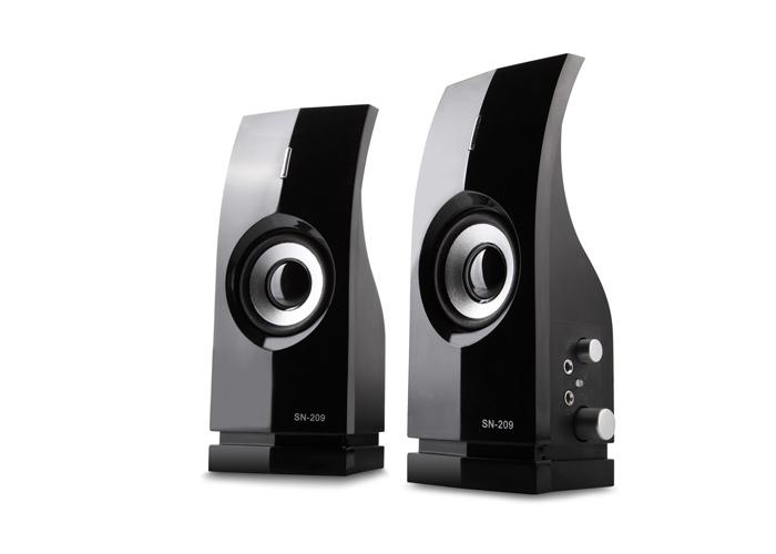 Snopy SN-209 2.0 Siyah AC 220V Speaker