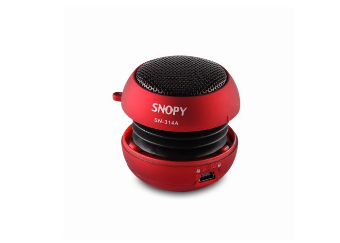 Snopy SN-314C Kırmızı Compact Mini Ses Bombası