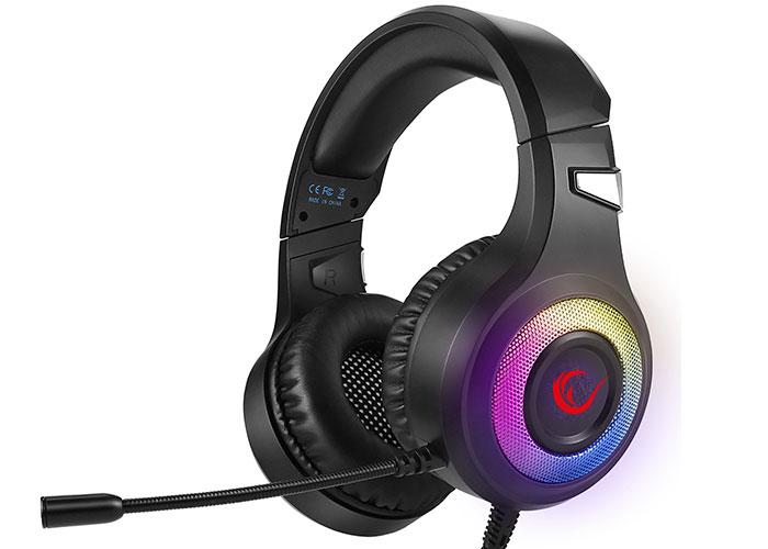 Rampage SN-R5 X-CORE Siyah/Beyaz 3,5mm + USB Bağlantı RGB Gaming Mikrofonlu Kulaklık