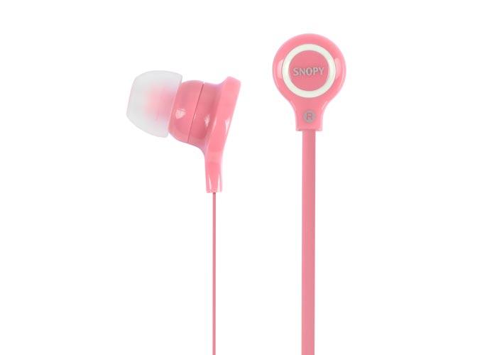 Snopy SN-5018 Pembe Kulak İçi Kulaklık
