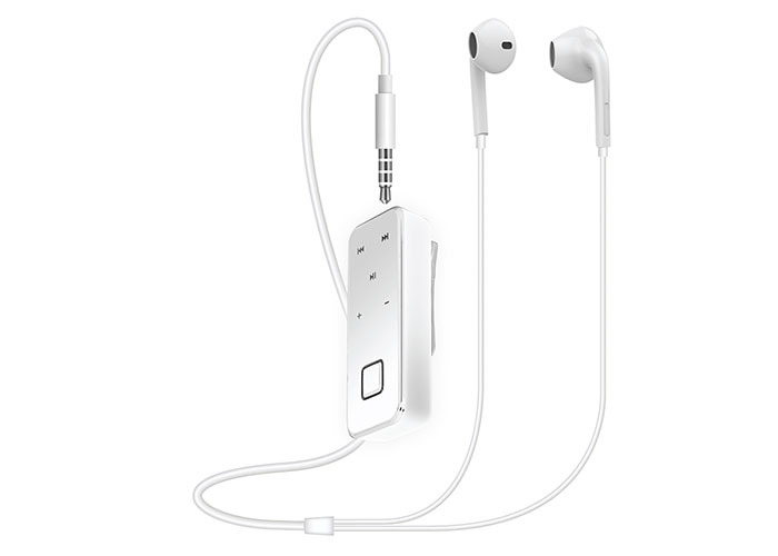 Snopy SN-BT10 Kulağa Takılan Küçük Beyaz Bluetooth Kulaklık
