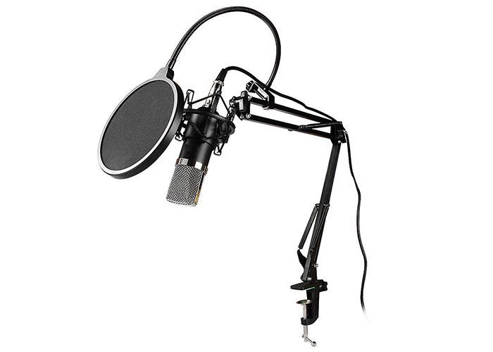 Snopy SN-03P Profesyonel amaçlı stand ve filtreli Youtuber ve Masaüstü Mikrofon