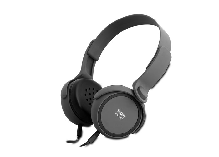Snopy SN-052 Gri Mikrofonlu Kulaklık
