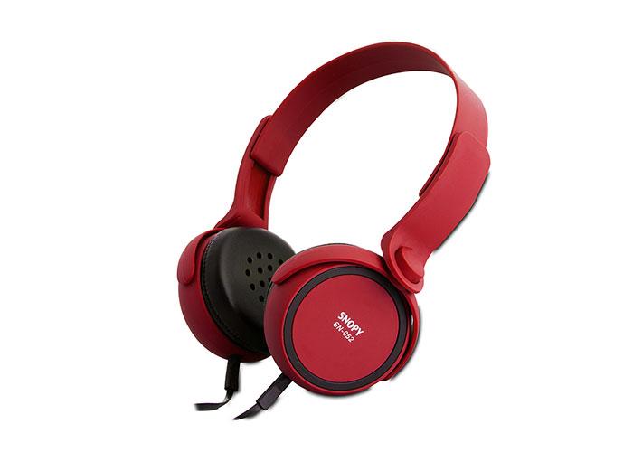 Snopy SN-052 Kırmızı Mikrofonlu Kulaklık