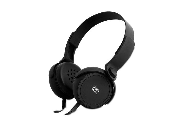 Snopy SN-052 Siyah Mikrofonlu Kulaklık