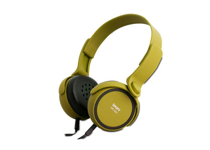 Snopy SN-052 Yeşil Mikrofonlu Kulaklık