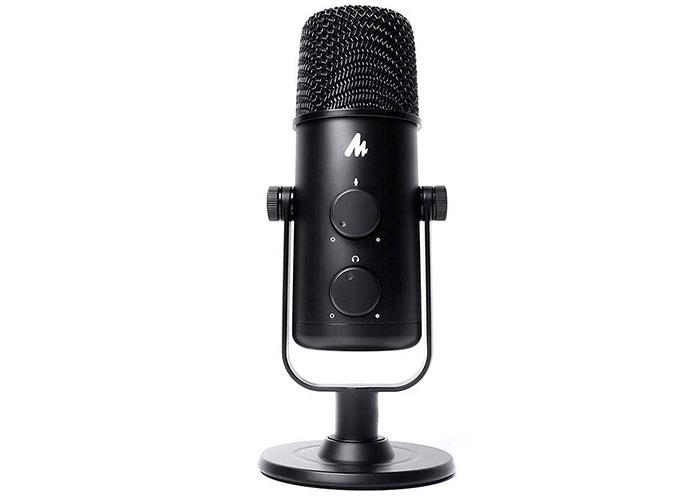 Snopy SN-05P Siyah Profesyonel Podcasting Masaüstü Mikrofon