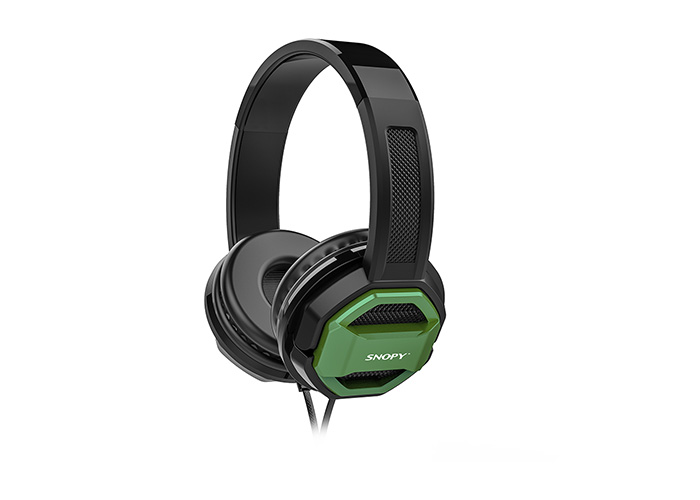 Snopy SN-101 BONNY Yeşil PCTelefon Mikrofonlu Kulaklık
