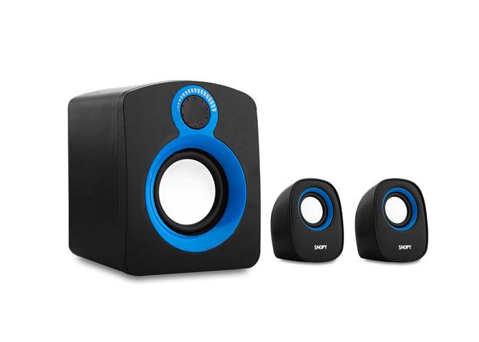 Snopy SN-1110 2+1 5W+3W*2 Black Speaker