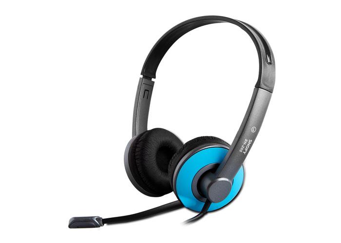 Snopy SN-205 Mavi Mikrofonlu Kulaklık