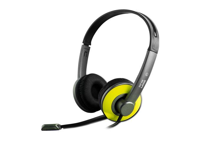 Snopy SN-205 Sarı Mikrofonlu Kulaklık