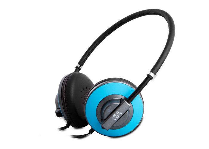 Snopy SN-301 Mavi Mikrofonlu Kulaklık