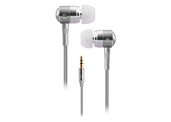 Snopy SN-322 Kulak İçi Kulaklık MP3/MP4 Lüks Metal Gövde Gümüş