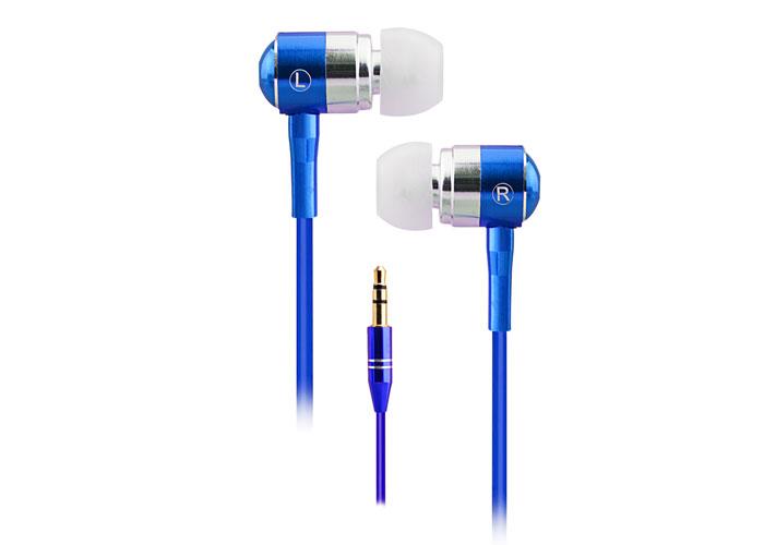 Snopy SN-322 Kulak İçi Kulaklık MP3/MP4 Lüks Metal Gövde Mavi