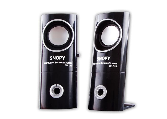 Snopy SN-326 2.0 Siyah AC 220V Speaker