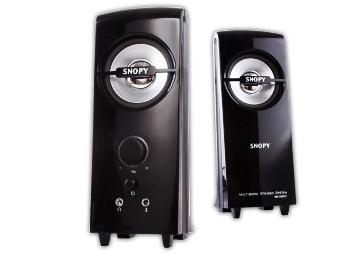 Snopy SN-3300X 2.0 Siyah AC 220V Speaker