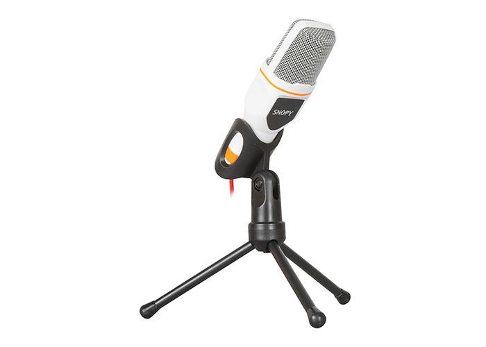 Snopy SN-340M White Desktop Microphone