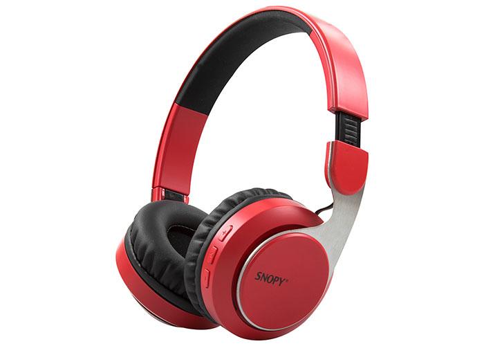 Snopy SN-34BT COSY Kırmızı Mobil Telefon Uyumlu Bluetooth Kablosuz Mikrofonlu Kulaklık