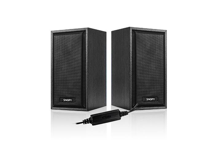 Snopy SN-385 2.0 USB 5V 80dB Siyah 2.5 3W*2 Speaker