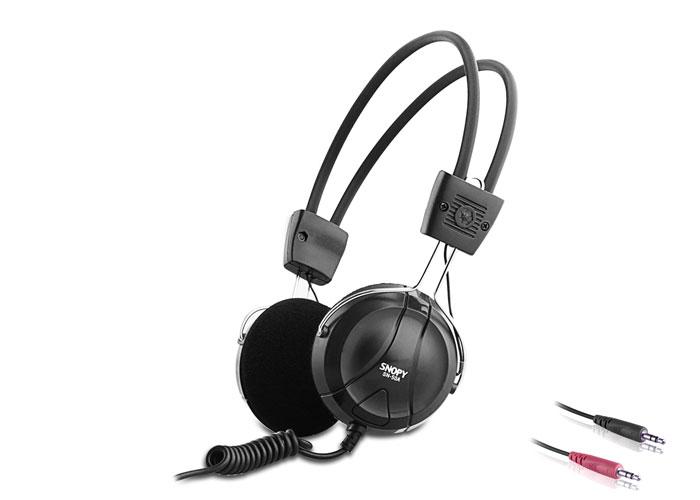 Snopy SN-50A Siyah Mikrofonlu Kulaklık