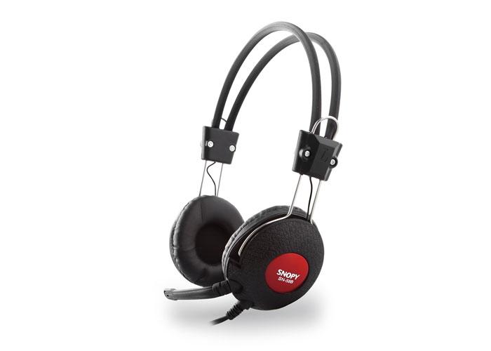 Snopy SN-58B Siyah Mikrofonlu Kulaklık