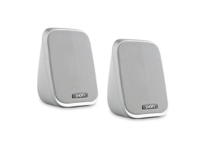 Snopy SN-701 2.0 3W*2 Beyaz USB Speaker