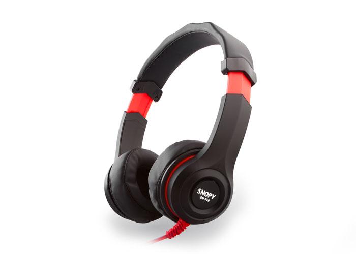 Snopy SN-718 Siyah Mikrofonlu Kulaklık