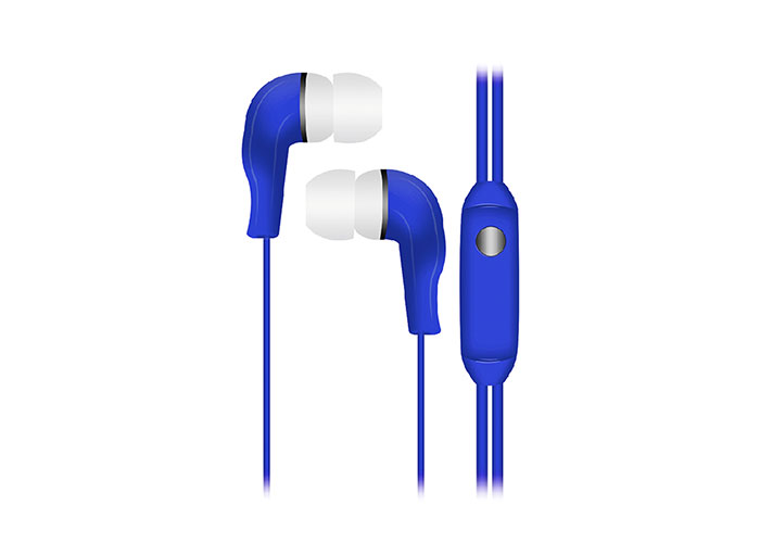 Snopy SN-777 CAPRICCIO MP3 In-Ear Blue Microphone  Headset
