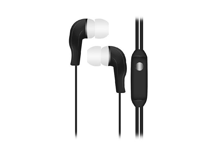 Snopy SN-777 CAPRICCIO MP3 Kulak İçi Siyah Mikrofon  Kulaklık