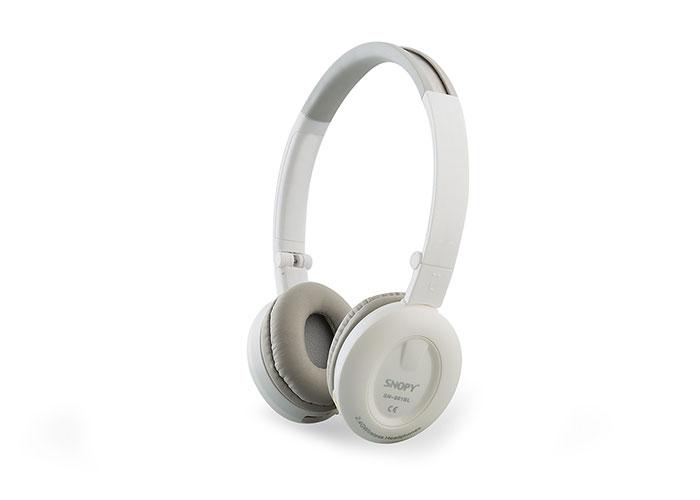Snopy SN-801BL Bluetooth Beyaz Mikrofonlu Kulaklık