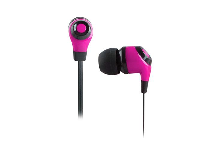Snopy SN-802 Mobil Telefon Uyumlu Kulak içi Pembe Mikrofonlu Kulaklık
