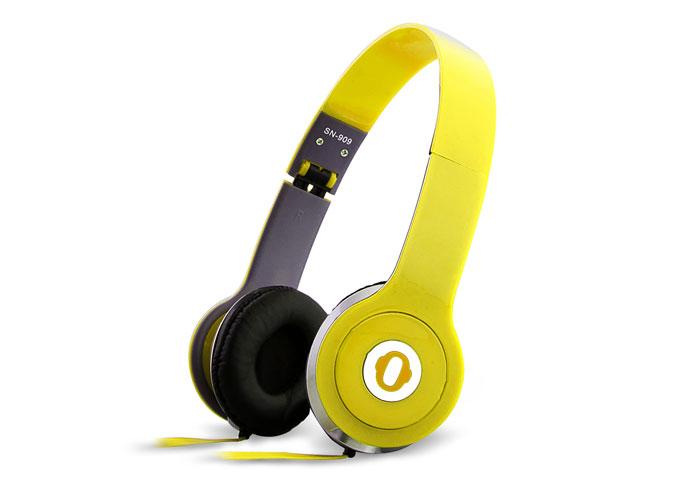 Snopy SN-909 Sarı Kulaklık