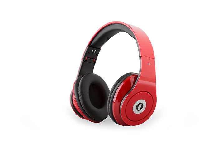 Snopy SN-914 Multimedia Kırmızı Mikrofonlu Kulaklık