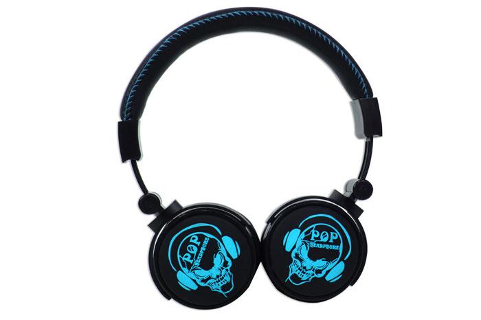 Snopy SN-99A 3D Renk Mavi Mikrofonlu Kulaklık