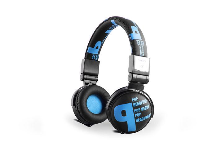Snopy SN-99B Pop Stereo Mavi Mikrofonlu Kulaklık