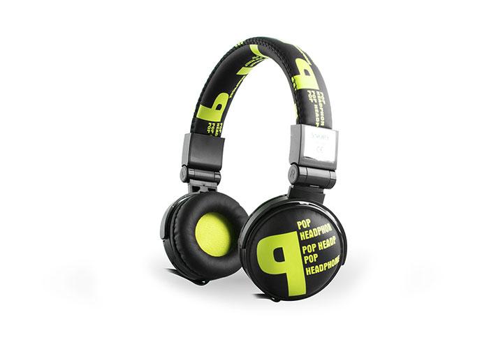 Snopy SN-99B Pop Stereo Sarı Mikrofonlu Kulaklık