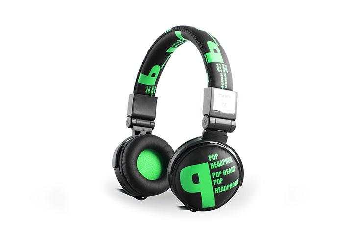 Snopy SN-99B Pop Stereo Yeşil Mikrofonlu Kulaklık