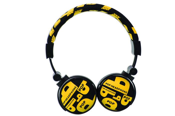 Snopy SN-99C Kumaş Renk Sarı Mikrofonlu Kulaklık