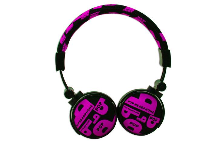 Snopy SN-99C Kumaş Renk Koyu Pembe Mikrofonlu Kulaklık