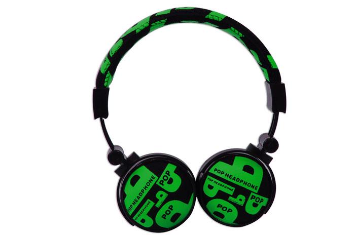 Snopy SN-99C Kumaş Renk Yeşil Mikrofonlu Kulaklık