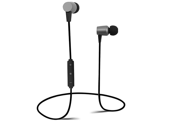 Snopy SN-BT185 Mobil Telefon Uyumlu Mıknatıslı Siyah/Gri Bluetooth Kulaklık