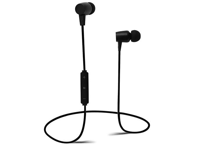 Snopy SN-BT185 Mobil Telefon Uyumlu Mıknatıslı Siyah Bluetooth Kulaklık