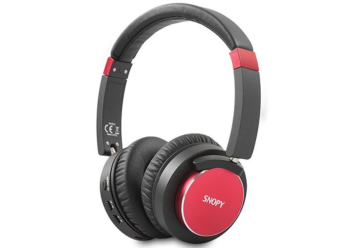 Snopy SN-BT41 Noise Cancelling Kırmızı Bluetooth Kulaklık