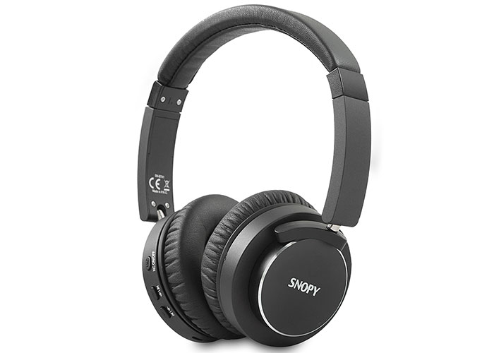 Snopy SN-BT41 Noise Cancelling Black Bluetooth Headset